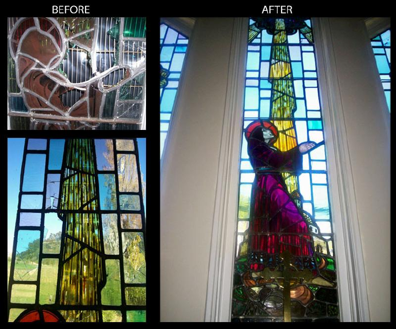 Saint Stephens Church's Window Restoration